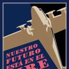 Libros de segunda mano: NUESTRO FUTURO ESTÁ EN EL AIRE. AVIONES EN LA LITERATURA ESPAÑOLA.-NUEVO. Lote 278424438