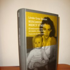 Libros de segunda mano: BUSCANDO MERCY STREET - LINDA GRAY SEXTON - NAVONA, MUY BUEN ESTADO. Lote 278849488