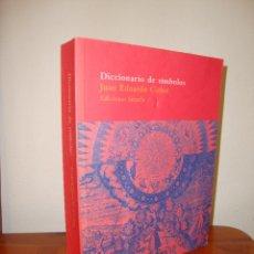 Libros de segunda mano: DICCIONARIO DE SÍMBOLOS - JUAN EDUARDO CIRLOT - SIRUELA. Lote 278853613