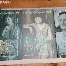 Libros de segunda mano: DIARIO ZENOBIA CAMPRUBÍ. 3 VOL. ALIANZA LITERARIA. 1991. Lote 279441888