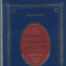 Libros de segunda mano: JEAN ROSTAND - EL HOMBRE. Lote 281980558