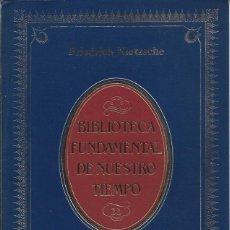 Libros de segunda mano: FRIEDRICH NIETZSCHE - MÁS ALLÁ DEL BIEN Y DEL MAL. Lote 281980673