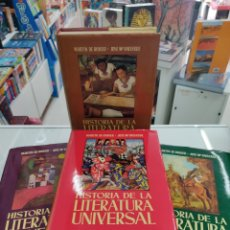 Libros de segunda mano: RIQUER, MARTÍN DE / VALVERDE, JOSÉ MARIA - HISTORIA DE LA LITERATURA UNIVERSAL (4 VOL. - COMPLETO) -. Lote 285232738