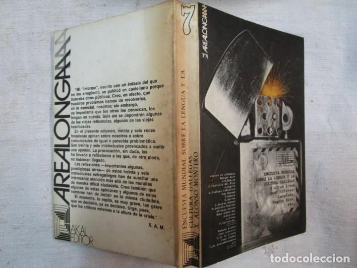 GALICIA - ENCUESTA MUNDIAL SOBRE LA LENGUA Y LA CULTURA GALLEGAS..- XESUS ALONSO MONTERO - AKAL 1974 (Libros de Segunda Mano (posteriores a 1936) - Literatura - Ensayo)