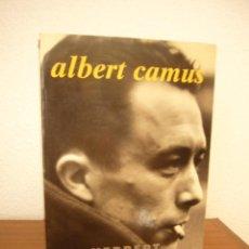 Libros de segunda mano: HERBERT R. LOTTMAN: ALBERT CAMUS (TAURUS, 1994) PRIMERA EDICIÓN. Lote 288514523