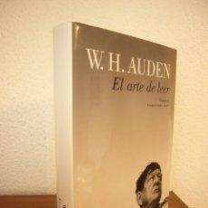Libros de segunda mano: W.H. AUDEN: EL ARTE DE LEER. ENSAYOS (LUMEN, 2013) TAPA DURA. COMO NUEVO.. Lote 289479513