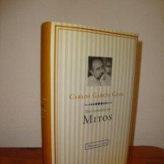 Libros de segunda mano: DICCIONARIO DE MITOS - CARLOS GARCÍA GUAL - PLANETA, PRIMERA EDICIÓN, COMO NUEVO. Lote 289528218
