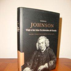 Libros de segunda mano: VIAJE A LAS ISLAS OCCIDENTALES DE ESCOCIA - SAMUEL JOHNSON - KRK, COMO NUEVO. Lote 289528878