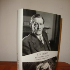 Libros de segunda mano: LA AVENTURA SIN FIN - T. S. ELIOT - LUMEN, COMO NUEVO, RARO. Lote 289604333