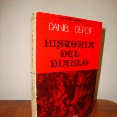 Libros de segunda mano: HISTORIA DEL DIABLO - DANIEL DEFOE - HIPERION, MUY BUEN ESTADO. Lote 289604858