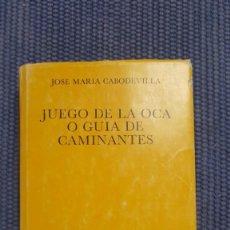 Libros de segunda mano: JUEGO DE LA OCA O GUÍA DE CAMINANTES. Lote 289901293