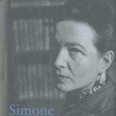 Libros de segunda mano: SIMONE DE BEAUVOIR. - SALLENAVE, DANIÈLE.. Lote 295462353