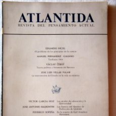 Libros de segunda mano: REVISTA ATLÁNTICA - NÚM. 11. SEP. - OCT. 1964.. Lote 295506448