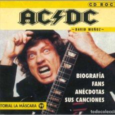Libros de segunda mano: CD ROCK - AC/DC - DAVID MUÑOZ. Lote 295509133