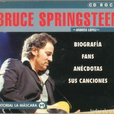 Libros de segunda mano: CD ROCK - BRUCE SPRINGSTEEN - ANDRES LOPEZ. Lote 295509438
