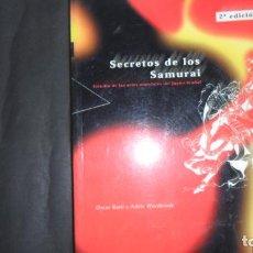 Libros de segunda mano: SECRETOS DE LOS SAMURAI, OSCAR RATTI Y ADELE WESTBROOK, ED. PAIDOTRIBO. Lote 297152488