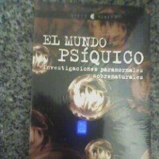 Libros de segunda mano: EL MUNDO PSIQUICO - INVESTIGACIONES PARANORMALES Y SOBRENATURALES - PLAZA & JANÉS - ESPAÑA - NUEVO!!. Lote 19374228