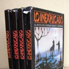 Libros de segunda mano: LO INEXPLICADO. 4 VOLUMENES. DEL 1 AL 4. EDITORIAL DELTA. 1982. Lote 26314120