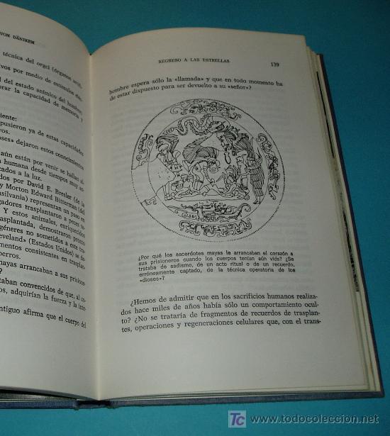 Libros de segunda mano: REGRESO A LAS ESTRELLAS. ERICH VON DÄNIKEN FGH - Foto 3 - 24285558