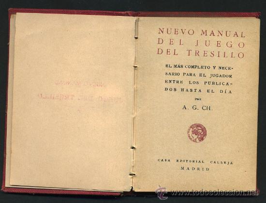 Libros de segunda mano: LIBRO CALLEJA, JUEGO DE TRESILLO, MAGIA, - Foto 2 - 24765924