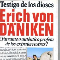 Libros de segunda mano: ERICH VON DANIKEN : TESTIGO DE LOS DIOSES. Lote 129279042