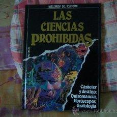 Libros de segunda mano: CARÁCTER Y DESTINO: QUIROMANCIA, HORÓSCOPOS, GRAFOLOGÍA. Lote 28069600