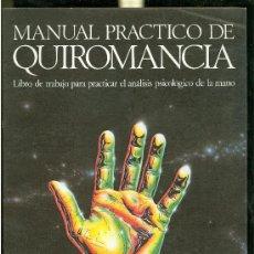 Libros de segunda mano: MANUAL PRACTICO DE QUIROMANCIA. NATHANIEL ALTMAN. ILUSTRADO POR LINDA JAMES. 1986. . Lote 28434331