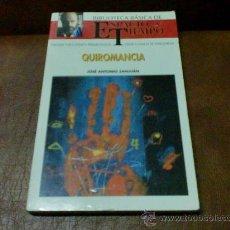 Libros de segunda mano: LIBRO: BIBLIOTECA BASICA ESPACIO Y TIEMPO.- QUIROMANCIA Nº 26 .- JOSE ANTONIO SANJUAN. Lote 28526498