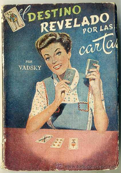 EL DESTINO REVELADO POR LAS CARTAS (Libros de Segunda Mano - Parapsicología y Esoterismo - Numerología y Quiromancia)
