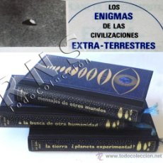 Libros de segunda mano: LIBROS LOS ENIGMAS DE LAS CIVILIZACIONES EXTRATERRESTRES - LIBRO UFOLOGÍA OVNIS FOTOS MISTERIO CASOS. Lote 28947571