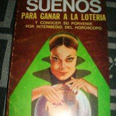 Libros de segunda mano: INTERPRETACION DE LOS SUEÑOS PARA GANAR LA LOTERIA - CAYMI - ARGENTINA - 1966. Lote 29739367