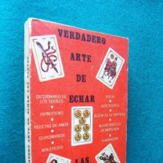 Libros de segunda mano: VERDADERO ARTE DE ECHAR LAS CARTAS-SYLVIO AURELIO RADETZKI-MEXICO-ILUSTRADO-1974-RARISIMO.. Lote 30678263