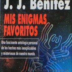 Libros de segunda mano: MIS ENIGMAS FAVORITOS LIBRO JJ BENÍTEZ MISTERIO - UFOLOGÍA ESOTERISMO ENIGMA ILUSTRADO J CASOS OVNIS. Lote 30735912