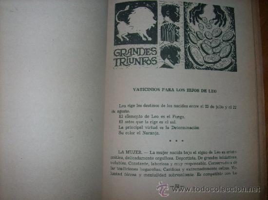 Libros de segunda mano: EL LIBRO DE ORO DE LOS SUEÑOS PARA GANAR A LA LOTERIA Y CONOCER SU HOROSCOPO - Foto 3 - 31089701