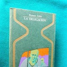Libros de segunda mano: LA DELEGACION-ACCIDENTE O VICTIMA DE SERES EXTRATERRESTRES-RAINER ERLER-1975-1ª EDICION ESPAÑOL.. Lote 32447671