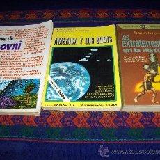 Libros de segunda mano: LA CLAVE DE LOS OVNI, AMÉRICA Y LOS OVNIS Y LOS EXTRATERRESTRES EN LA HISTORIA. DIFÍCILES!!!!!!!!!. Lote 38084969