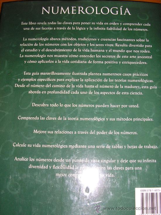 Libros de segunda mano: NUMEROLOGIA, por William Field - Parragón - 2009 - NUEVO!! RARO!! - Foto 9 - 38933142