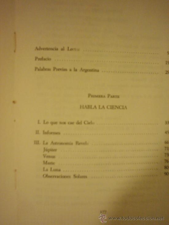 Libros de segunda mano: LA REALIDAD DE LOS OVNI A TRAVES DE LOS SIGLOS, por Luis Anglada Font - KIER - 1ra. Edic. - 1968 - Foto 2 - 39142973