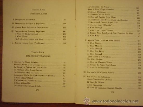 Libros de segunda mano: LA REALIDAD DE LOS OVNI A TRAVES DE LOS SIGLOS, por Luis Anglada Font - KIER - 1ra. Edic. - 1968 - Foto 3 - 39142973