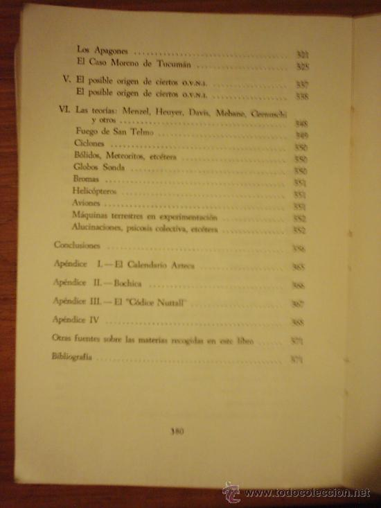 Libros de segunda mano: LA REALIDAD DE LOS OVNI A TRAVES DE LOS SIGLOS, por Luis Anglada Font - KIER - 1ra. Edic. - 1968 - Foto 4 - 39142973