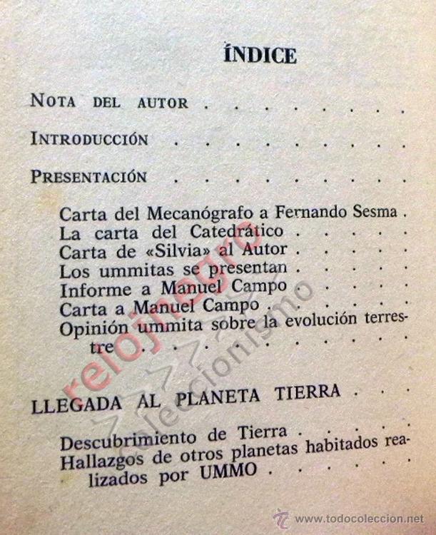 Libros de segunda mano: UMMO LA INCREÍBLE VERDAD - ANTONIO RIBERA UMMITAS EXTRATERRESTRES UFOLOGÍA OVNIS MISTERIO OVNI LIBRO - Foto 3 - 42030019