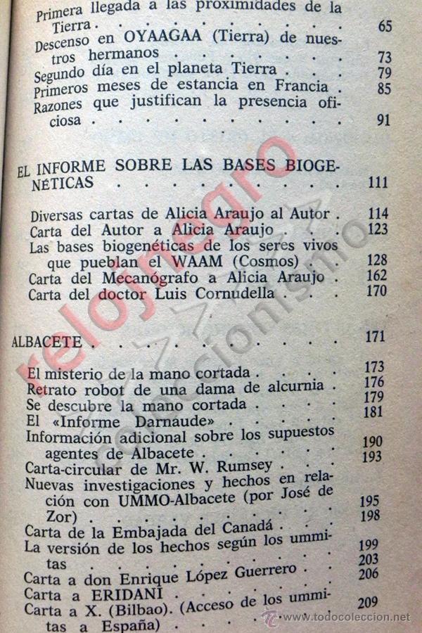 Libros de segunda mano: UMMO LA INCREÍBLE VERDAD - ANTONIO RIBERA UMMITAS EXTRATERRESTRES UFOLOGÍA OVNIS MISTERIO OVNI LIBRO - Foto 4 - 42030019