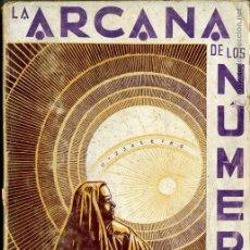 Libros de segunda mano: LA ARCANA DE LOS NÚMEROS (KIER, 1975). Lote 42292870
