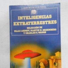Libros de segunda mano: INTELIGENCIAS EXTRATERRESTRES. LABOR BOLSILLO JUVENIL Nº 92. ISAAC ASIMOV, GREENBERG, WAUGH. TDK184. Lote 43224770