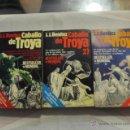 Libros de segunda mano: M69 LOTE DE TRES LIBROS CABALLO DE TROYA J J BENITEZ BETSELLER. Lote 43246666