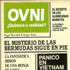Libros de segunda mano: OVNI ¿QUIMERA O REALIDAD? - NIGEL BLUNDELL & ROGER BOAR - CIRCULO DE LECTORES - 1985. Lote 43572260