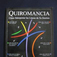 Libros de segunda mano: QUIROMANCIA. COMO INTERPRETAR LAS LINEAS DE TU DESTINO.ROZ LEVINE.DASTIN 1999.. Lote 44980381
