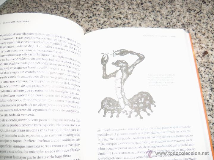 Libros de segunda mano: ALIENS, LA CIENCIA TRAS LA VIDA EXTRATERRESTRE, por Clifford Pickover - Robin Book - ESPAÑA - 2009 - Foto 3 - 45303941