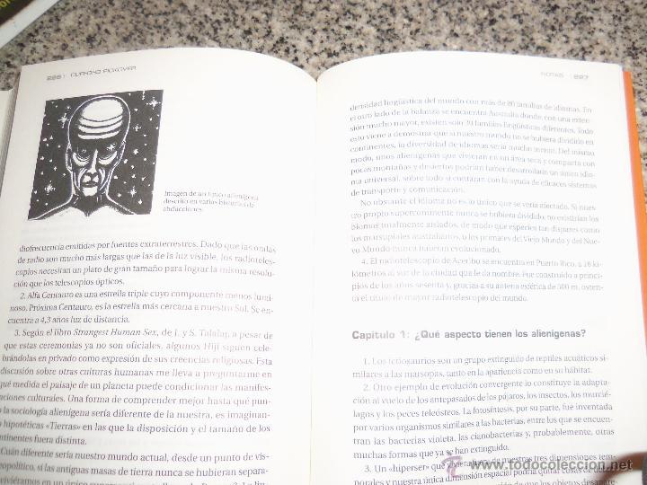 Libros de segunda mano: ALIENS, LA CIENCIA TRAS LA VIDA EXTRATERRESTRE, por Clifford Pickover - Robin Book - ESPAÑA - 2009 - Foto 4 - 45303941