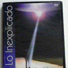 Libros de segunda mano: DVD ABDUCIDOS SECUESTRADOS POR LOS OVNIS INEXPLICADO UFOLOGÍA MISTERIO DOCUMENTAL AÑO CERO -NO LIBRO. Lote 45435826